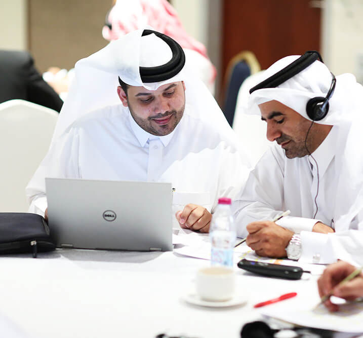 الجلسة التعريفية لبرنامج إعداد المستشارين المهنيين